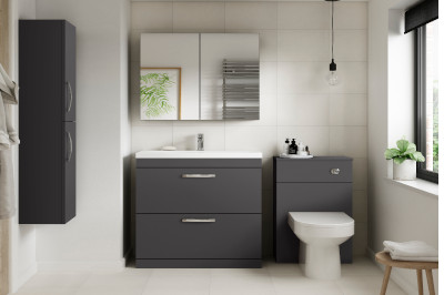 Grey Bathroom Furniture